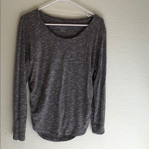 Liz Lange maternity gray sweater